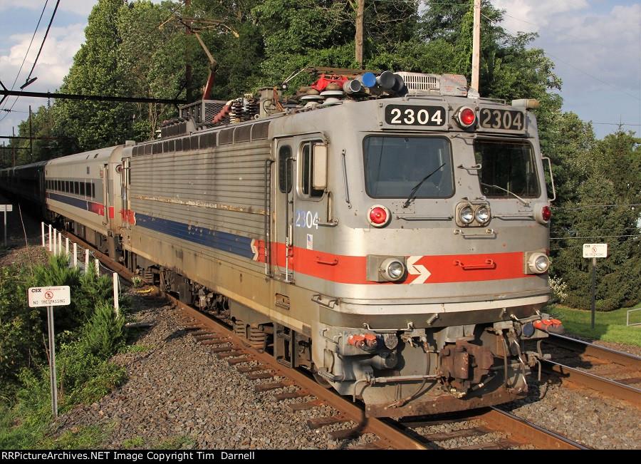 SPAX 2304 on train 6378